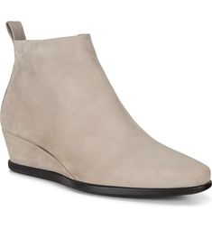 ECCO Shape 45 Wedge Bootie (Women)   Nordstrom Wedge Bootie, Chelsea Boots, Nordstrom, Wedges, Booty, Shapes, Summer, Leather, Women