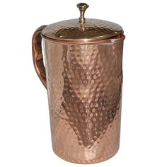 Buy Pure Copper Jug with Lid for Health Benefits Online at Low Prices in India - Amazon.in