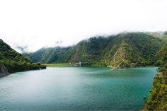 Así se ve el lago Calima casi cubierto de nubes! . . . #viajes #ecoturismo #colombia #lagocalima