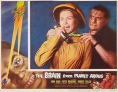 """Joyce Meadows - The Brain From Planet Arous (1957). Ms. Meadows will appear in our upcoming documentary """"Monsters, Martians and Mad Scientists: Horror in the Atomic Age."""" For more information, visit Operator13Productions.com"""