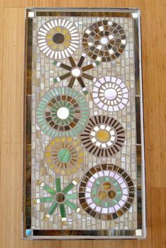 Garden Table. Megan Cain. Easy Mosaic, Mosaic Tray, Mirror Mosaic, Mosaic Glass, Mosaic Tiles, Mosaic Art Projects, Mosaic Crafts, Mosaic Designs, Mosaic Patterns
