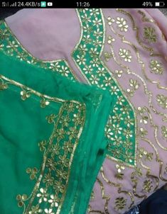 Hand Embroidery Designs, Anarkali, Silk Sarees, Designer Dresses, Jewelry Design, Traditional, Suits, Clothes For Women, Clothing