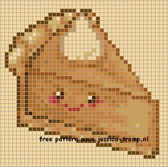 Free cross stitch patterns Pumpkin Pie