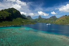 Moorea, Tahiti, Cooks Bay. Truly the most exotic place we have been.