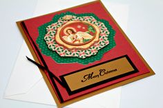 Angel Christmas Card Bath Salt Card Insert by GwensHomemadeGifts