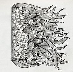 Image result for zentangle mandala with illusion of depth