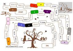 Brettspiel Wortschatz & Grammatik