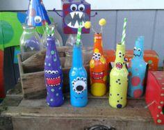 Monster bottles decorative bottles