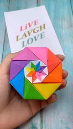 Origami is a good project to utilize your free time or even produce important … Paper Flowers Craft, Paper Crafts Origami, Paper Crafts For Kids, Diy Paper, Origami Gifts, Diy Crafts Hacks, Diy Crafts For Gifts, Diy Arts And Crafts, Creative Crafts