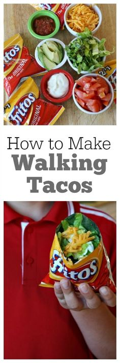 How to Make Walking Tacos Great for The Stand!