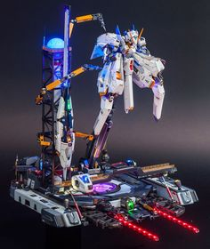 A.O.Z RX-124 GUMDAM TR6 [Wondwart] - Diorama Build     Modeled by Dan Leong