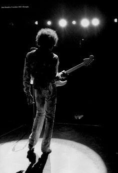 Jimi Hendrix, 1967.