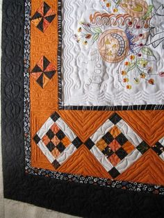 Which Witch's Boot, closeup photo, by Quilt Hollow.  Design by Crabapple Hill.