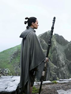 """""""Luke definitely does not give Rey the warm welcome he received when he went in search of Alec Guinness' Ben Kenobi in 1977's original Star Wars. She is warned. She is given an explanation. Nevertheless…""""She's so hopeful to everything,"""" Ridley says.... 