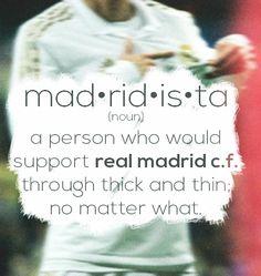 We are Madrid! Im a madridista! #HalaMadrid