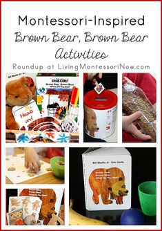 Great collection of Brown Bear Activities!