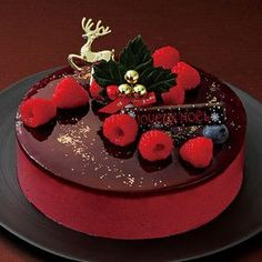 Japanese christmas cake. Takashimaya