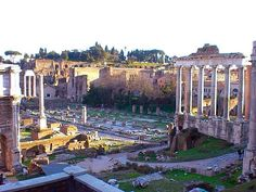 WEBSTA @ cookitalia_ - Every one soon or late comes round to Rome. Roman Forum.....#rome #roma #romanforum #foriimperiali #cookitalia_
