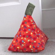 Pyramid doorstop - love this, on the to do list.