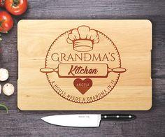 Grandma custom cutting board Custom Engraved Cutting board