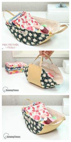 Small Sewing Projects, Sewing Hacks, Sewing Tutorials, Sewing Patterns Free, Free Sewing, Sewing Pattern Storage, Free Pattern, Pattern Fabric, Fabric Storage