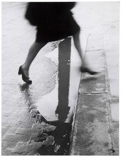 Pluie, place Vendome, 1947