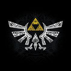 Hyrule Black - Zelda