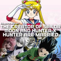 """Anime: Sailor Moon/Hunter x Hunter"