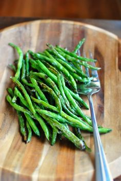 Grilled Fresh Green Beans l www.SimplyScratch.com