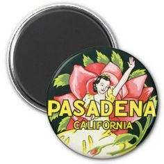 >>>Best          	Vintage Travel, Woman Roses, Pasadena California Refrigerator Magnets           	Vintage Travel, Woman Roses, Pasadena California Refrigerator Magnets so please read the important details before your purchasing anyway here is the best buyDeals          	Vintage Travel, Woman ...Cleck Hot Deals >>> http://www.zazzle.com/vintage_travel_woman_roses_pasadena_california_magnet-147803309740973591?rf=238627982471231924&zbar=1&tc=terrest