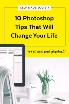 10 Photoshop TipGIFs That Will Change Your Life (or, at least your graphics.) — Made Vibrant