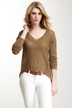 Dolman Knit Sweater.