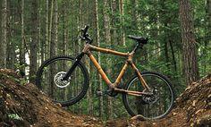 Bamboo and Hemp fiber bicycle