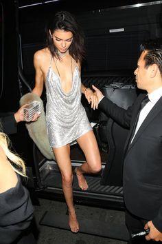 Kendall Jenner Wore a $9,000 Swarovski Crystal Birthday Dress  - MarieClaire.com