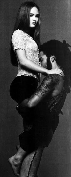 Vanessa Paradis & Lenny Kravitz by Patrik Andersson, 1992/ 1993