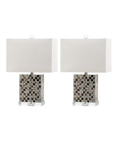 Another great find on #zulily! Tanner Table Lamp - Set of Two #zulilyfinds