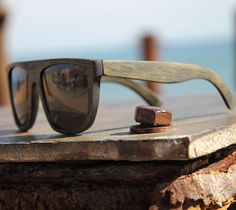 Data Bamboo Vintage Sunglasses $175