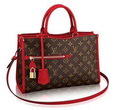Louis Vuitton Popincourt Tote Red PM