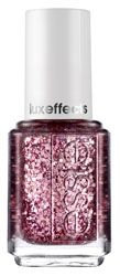 Essie A Cut Above Nail Lacquer-Shattered pink diamond glitz.  Contains No Formaldehyde, DBP or Toluene.  Part of the Essie 2011 Winter luxeffects Collection.