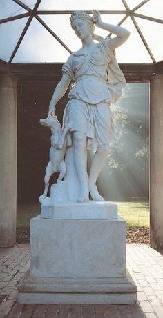Diana, Roman Goddess of the Hunt | #Biltmore | Asheville, NC