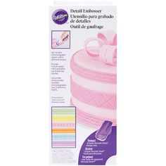 I'm learning all about Wilton Decorate Smart Fondant Detail Embosser at @Influenster!