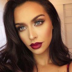 dazzling make-up