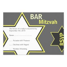 >>>Smart Deals for          Star of David Bar Mitzvah Yellow & Grey RSVP Personalized Invite           Star of David Bar Mitzvah Yellow & Grey RSVP Personalized Invite Yes I can say you are on right site we just collected best shopping store that haveShopping          Star of David ...Cleck Hot Deals >>> http://www.zazzle.com/star_of_david_bar_mitzvah_yellow_grey_rsvp_invitation-161084210126053092?rf=238627982471231924&zbar=1&tc=terrest