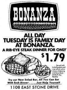#Bonanza
