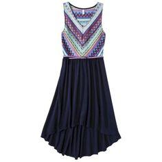 Xhilaration® Junior's Belted Crochet Fit & Flare Dress - Assorted Colors