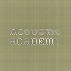 acoustic.academy