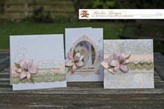 Creative Cards with vellum by Beckie Dreyer