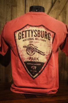 Gettysburg National Military Park - Pocket T-Shirt by Buffalo Jackson Trading Co