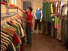 ir de compras con amigos / la ropa
