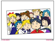 MoonSticks Sailor Moon Oscar Selfie Parody featuring all the Sailor Senshi from Sailor Stars